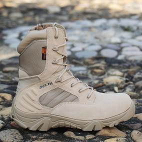 三角洲军靴登山特种兵战靴户外靴高帮沙漠靴战术靴靴军迷军鞋男靴