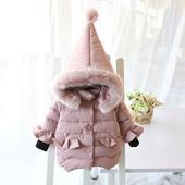 2016新款童装冬装女童加厚手塞棉棉衣外套小中儿童棉袄羽绒棉棉服