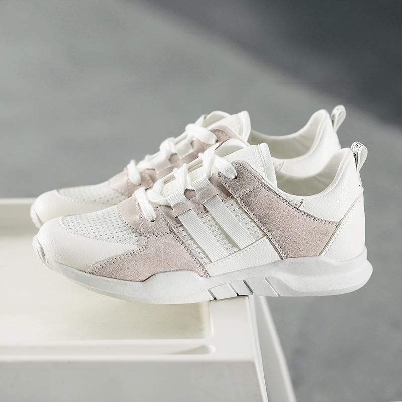 平底运动鞋网鞋女小白鞋女韩版跑步透气环球帆布鞋