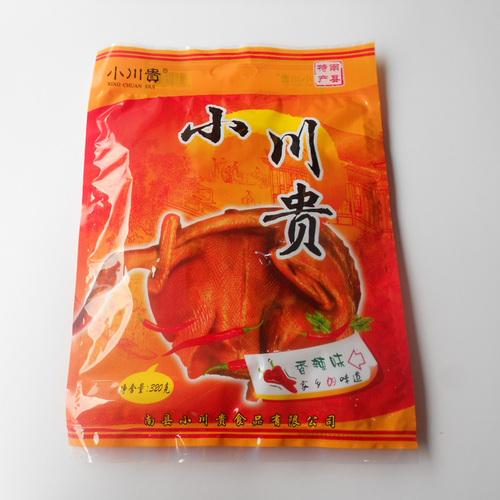 湖南特产零食 南县小川贵酱板鸭1只320g 天天发新货 特价冲冠