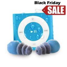 带防水耳机 游泳防水MP3 美国代购 iPod Waterfi Shuffle图片