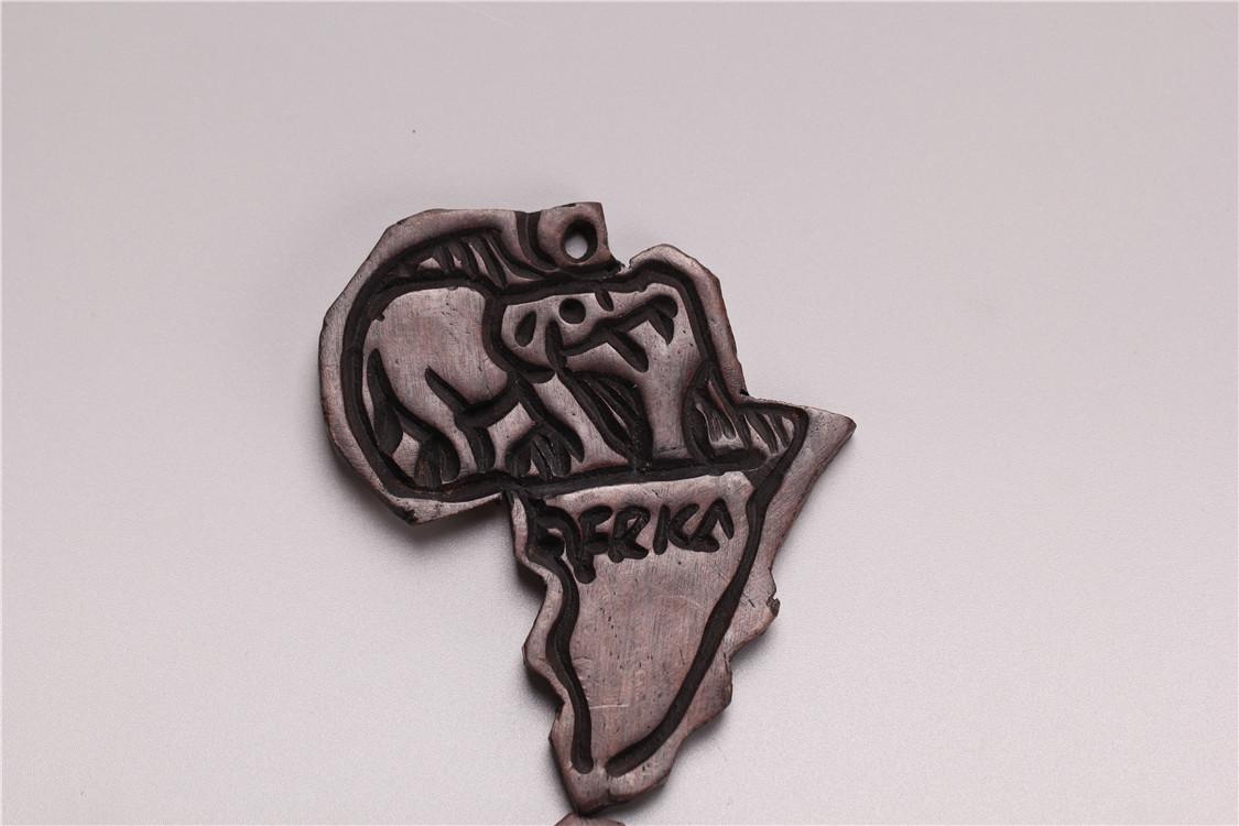 非洲木雕 黑木 家饰 礼品 黑木 工艺品 纯手工 CM 客厅 书房