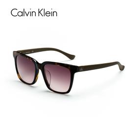 凯文克莱Calvin Klein太阳眼镜 个性圆框舒适遮阳大墨镜 CKJ4298S