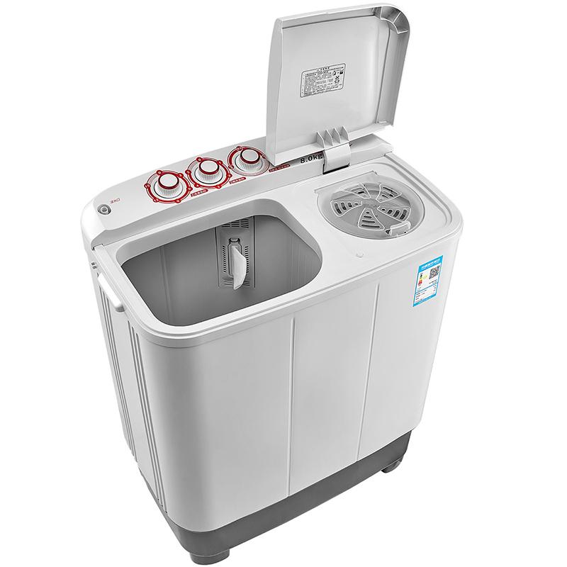 公斤半自动双桶小型洗衣机家用 8 DS905 TP80 小天鹅 Littleswan