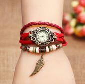 正品皮带韩国女表时尚潮流学生韩版复古情侣手链镯水钻女士手表
