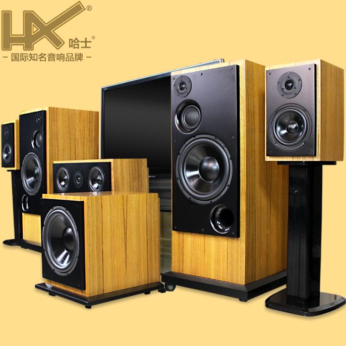 雅马哈功放家庭影院套装发烧音响低音炮5.1旗舰音箱HAX186哈士