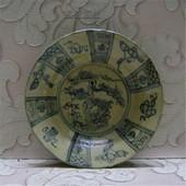 绝版老货 民国仿明代青花瓷盘 景德镇老瓷器(包老) 收藏摆设