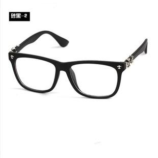 新款复古克罗心眼镜框 潮男女手工时尚眼镜架 板材近视平光镜
