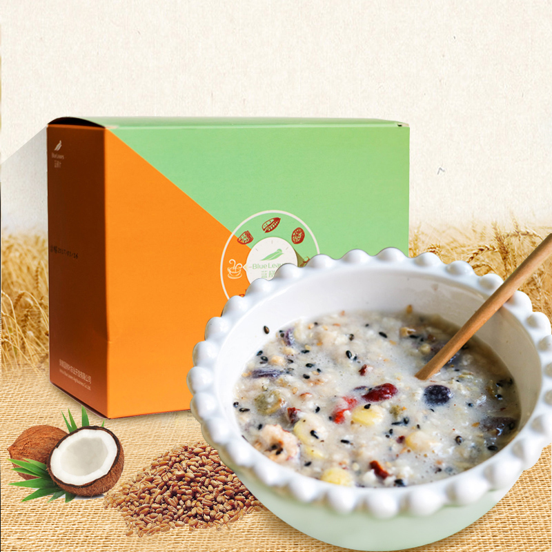 蓝树叶魔芋代餐粥五谷杂粮果蔬膳食纤维代餐粉营养早餐美人粥