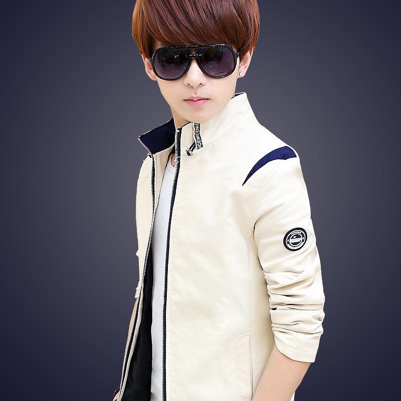 秋季外套男青年修身型韩版新款秋装衣服男装夹克男士潮流春秋上衣