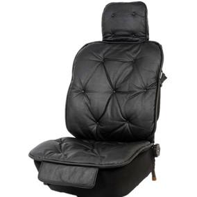 意博车坊汽车座垫仿鸵鸟皮高档汽车座垫圆针款座垫沙发款座垫车垫