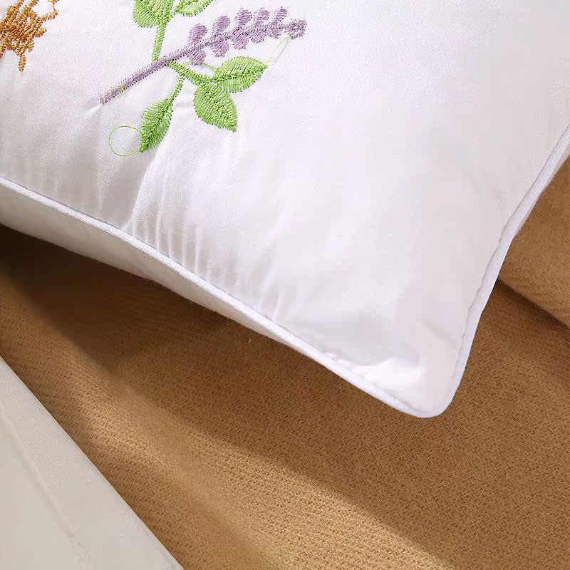 馨莱诺家纺 决明子薰衣草枕头 保健护颈枕 颈椎枕单人枕芯 特价