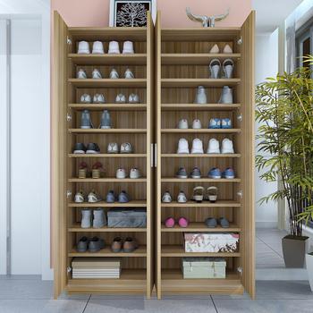 特价简约现代大容量木质鞋柜门厅