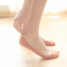 夏季薄款船袜女纯棉浅口隐形袜子女短袜硅胶防滑夏天超薄女士棉袜