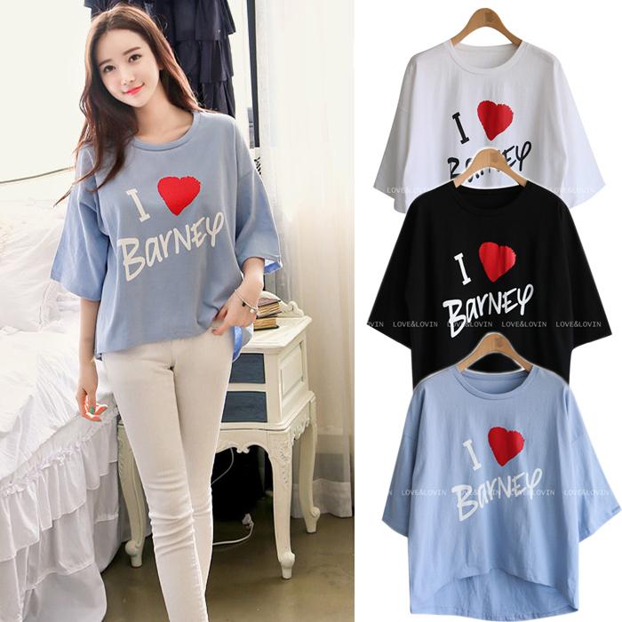 胖mm大码夏女韩版不规则女装宽松蝙蝠短款衫学生五分袖t恤七分袖