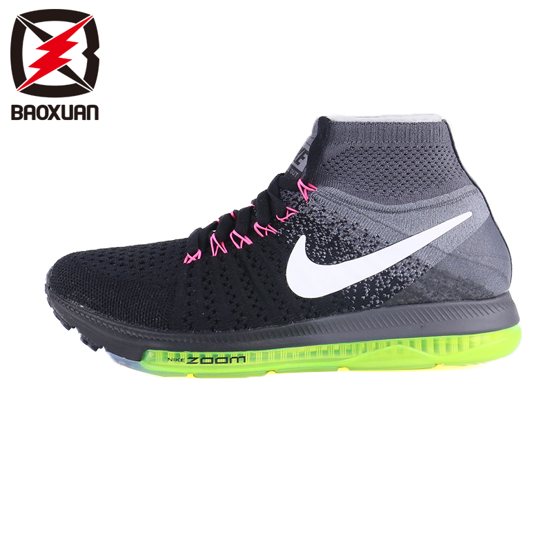 耐克Nike Zoom All Out Flyknit飞线全掌ZOOM气垫跑鞋 845361-002