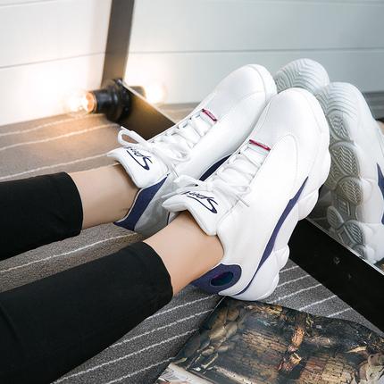 南美风2016秋季高帮篮球鞋女韩版运动潮街舞鞋粗跟软面耐磨跑步鞋