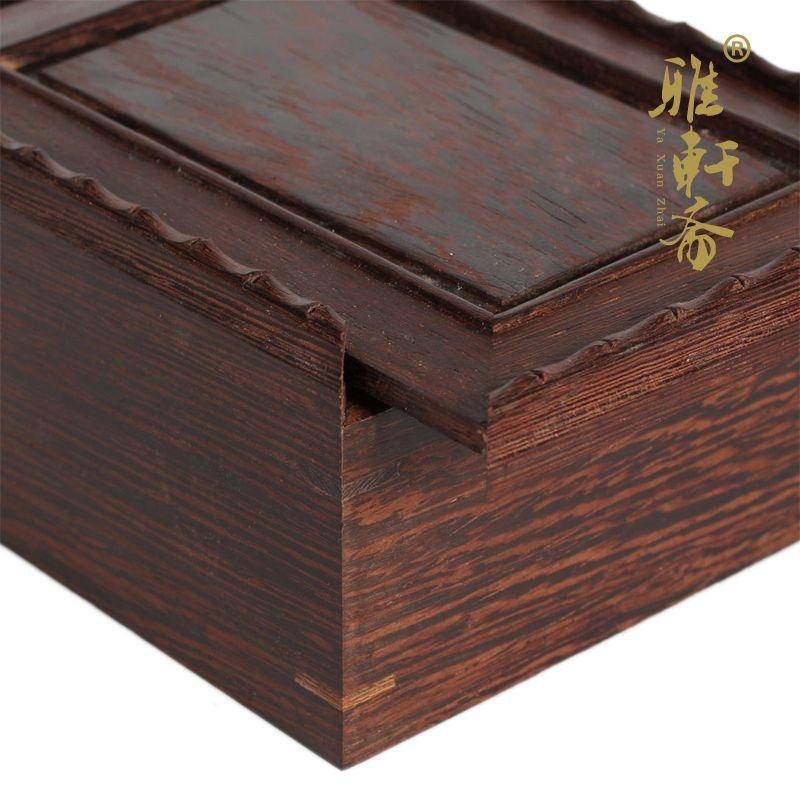 鸡翅木质首饰盒收纳盒子