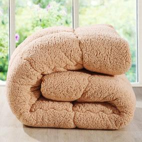 派瑞羊羔绒被子被芯冬被加厚保暖学生宿舍冬季单人双人春秋棉被褥
