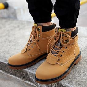 春季英伦马丁靴男鞋工装靴短靴棉鞋大黄靴皮靴大码高帮鞋雪地靴