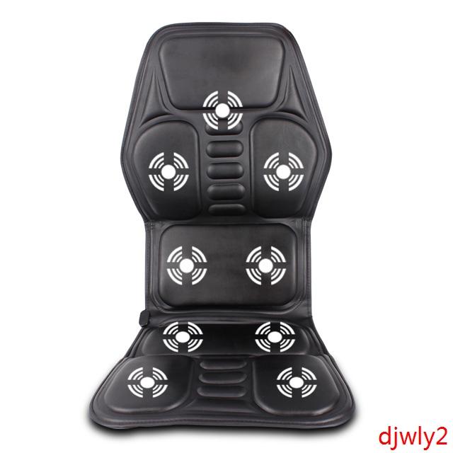 加热车载家居按摩两用汽车 振动椅垫通用 按摩背部腿部腰部