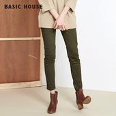 HOPT721I 女士修身 House 显瘦小脚铅笔裤 百家好韩版 Basic