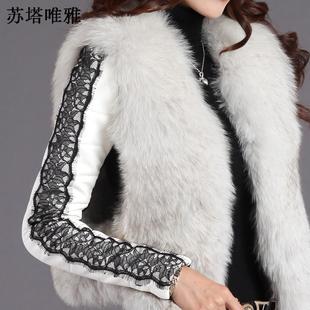 天天特价加厚羽绒袖打底衫拼接白色皮袖小衫高领羊毛针织毛衣女冬