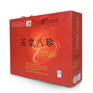 济宁玉堂酱菜咸菜花生仁山东特产年货 玉堂八珍酱菜礼盒礼品盒