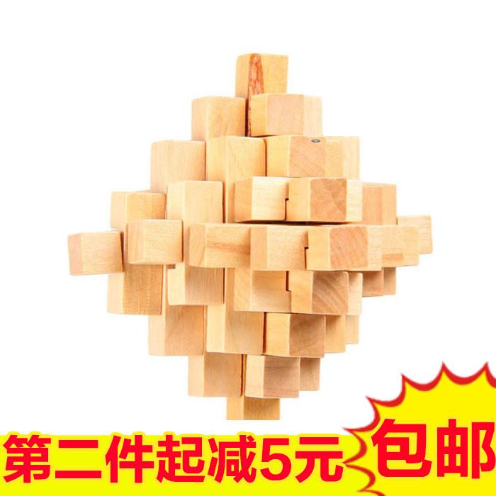 木制孔明锁鲁班锁大菠萝