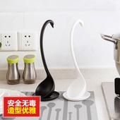 塑料天鹅汤勺创意家用厨房餐具 长柄大粥勺盛稀饭火锅勺子 巧居家