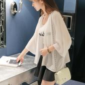2017新款春夏季女装韩版女士雪纺空调衫女薄防晒衣女长袖上衣开衫