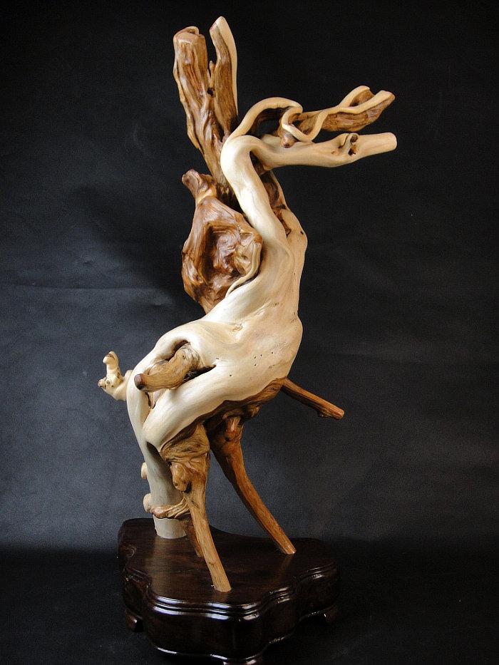 雕刻工艺 根雕