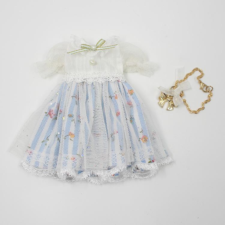 blythe小布娃娃衣服 糖果色可爱公主风洋装