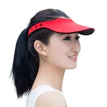 便携式遮阳帽男女运动鸭舌帽无顶休闲高尔夫球帽子