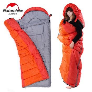 NH户外睡袋冬季加厚保暖野外超轻