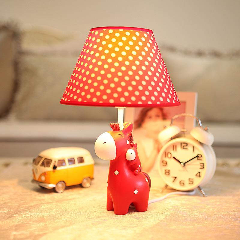 闪迪家居 创意卧室床头灯 卡通可爱装饰小台灯 温馨田园结婚礼物