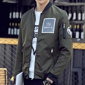 飞行员夹克春秋潮流韩版学生2017新款青年春季棒球服男士外套秋冬