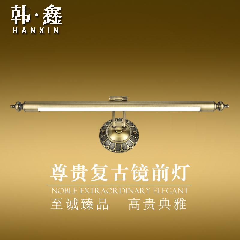 美式复古镜前灯卫生间简约镜柜灯欧式镜子灯led