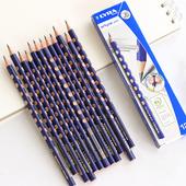 德国LYRA艺雅洞洞铅笔HB儿童矫正握姿小学生三角形2B无毒三棱批发