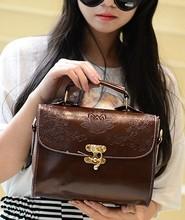 女包2014新款韩版时尚学院风英伦复古小包女巫包单肩斜挎手提包包