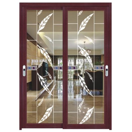 定制钛镁铝合金书房客厅移门厨房餐厅吊趟门阳台推拉门SD046